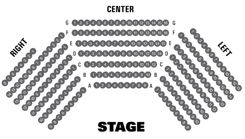 Court Theatre Seating Chart
