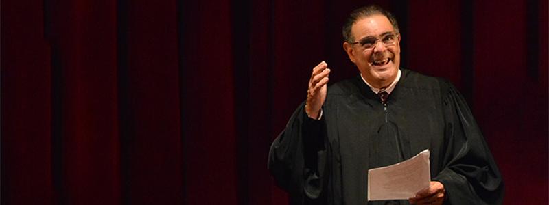 Edward Gero as Justice Antonin Scalia