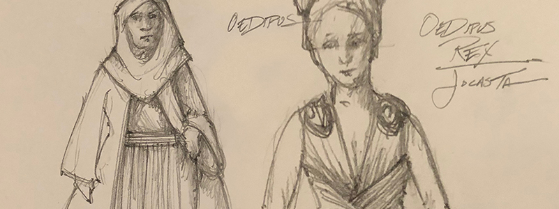 Power And Symbolism Designing The Costumes Of Oedipus Rex Court Theatre