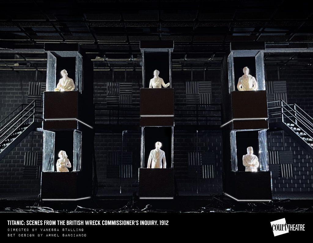 TITANIC Set Design by Arnel Sancianco